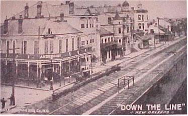Ecco il quartiere della prostituzione più famoso di New Orleans  STORYVILLE. come appariva agli inizi del 1900