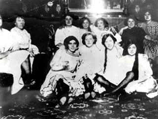 Prostitute da saloon, 1828