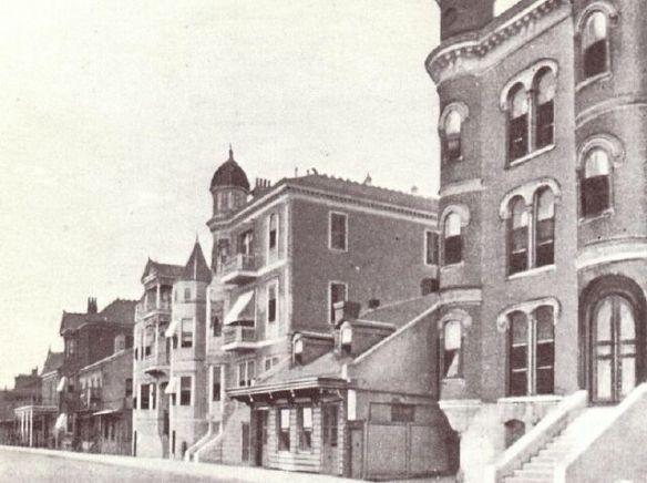 Storyville   Basin Street.  1892