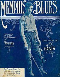 Copertina della canzone Memphis Blues in versione cantata 1912