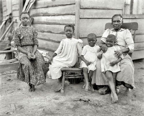 Famiglia di neri liberati 1874