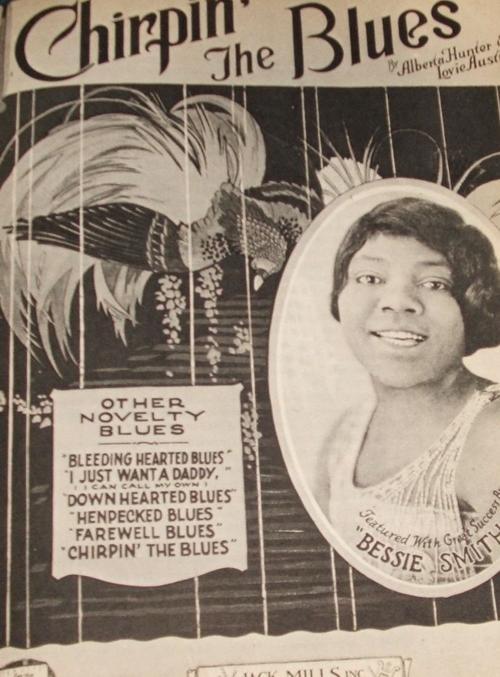 Bessie Smith ai suoi esordi in competizione con la famosa Alberta Hunter, 1920 c.a.