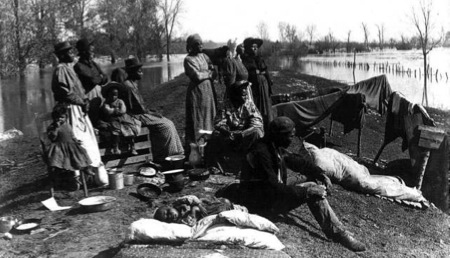 Esodo dei neri liberati In Arkansas  1880 c.a.