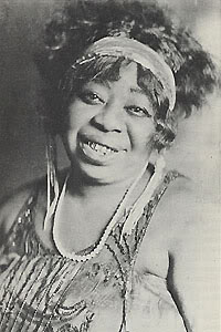Ma Rainey all'epoca in cui scopri' la giovane Bessie Smith