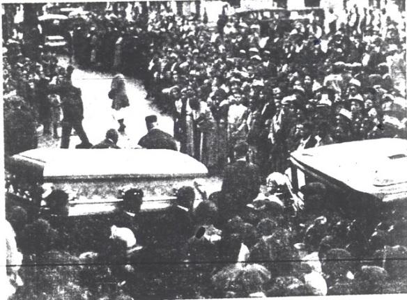 Commozione ai funerali di Bessie Smith