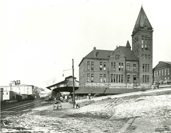 La stazione  ferroviaria di Memphis 1910