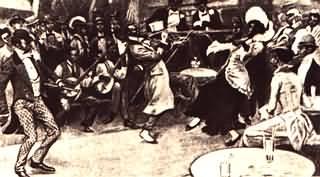Ragtime band  fine 1800