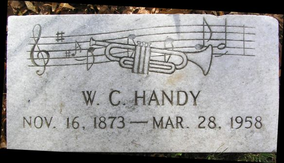 Lapide di William C. Handy nel cimitero di Memphis