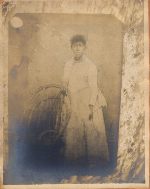 Young Woman near Flora, MS