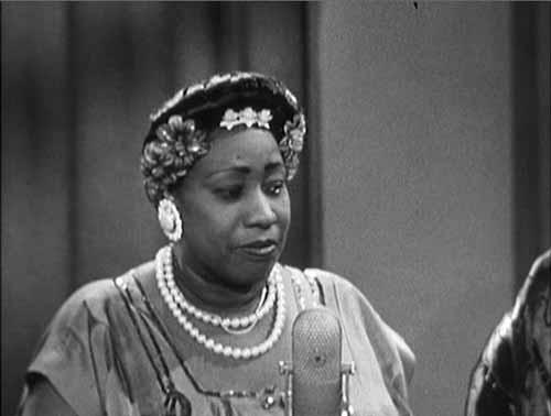 Gladys Bentley al Groucho's Marx Show, 1958