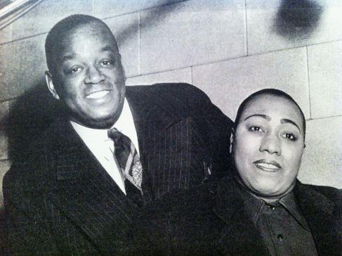 Gladys Bentley con Prentiss Taylor,famoso pittore di Harlem, nel  1932.