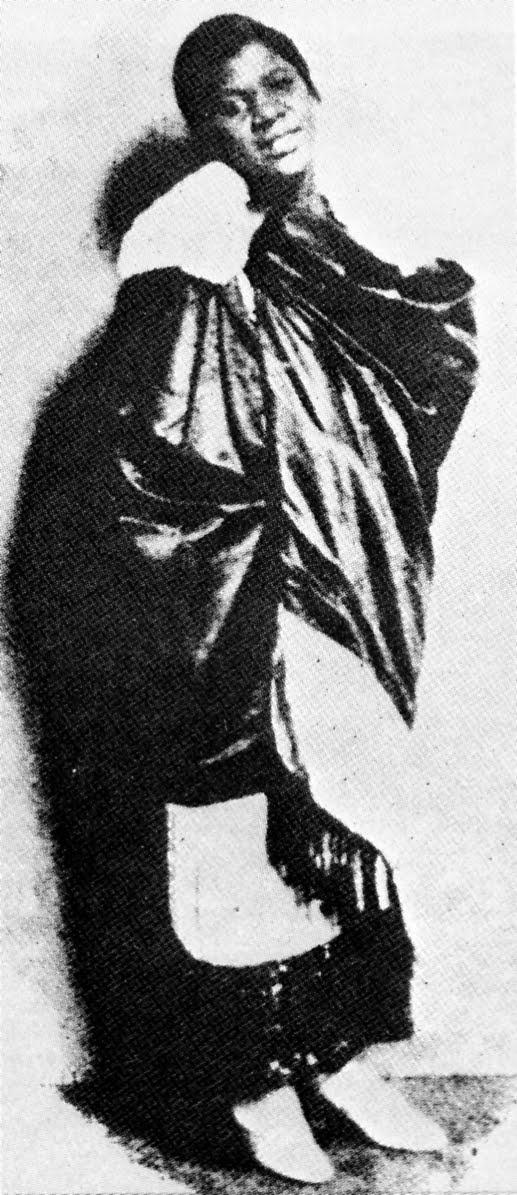 Clara Smith  nel periodo Vaudeville, 1923