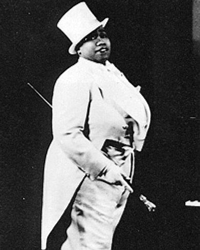 L'immagine piu' rappresentativa di Gladys Bentley,  anni '30.