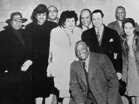 """Gladys Bentley """" al femminile """" qui ancora con Bob Howard, 1936."""
