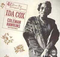 Anziana signora nel 1961. Copertina dell'album Blues for Rampart Street