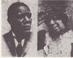 Una rarissima foto di Pa e Ma Rainey,1912 c.a.