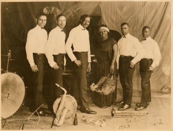 Ma Rainey con la sua Jazz Band, 1926 c.a.