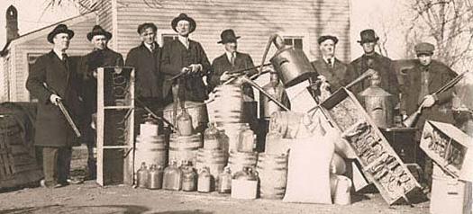 Lotta all'alcool nel Proibizionismo