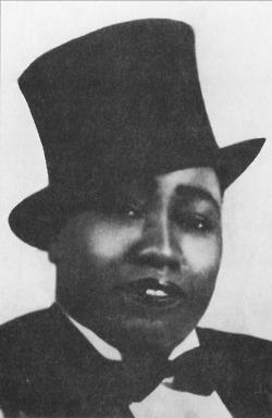 Una delle immagini piu' conosciute di Gladys Bentley, 1927