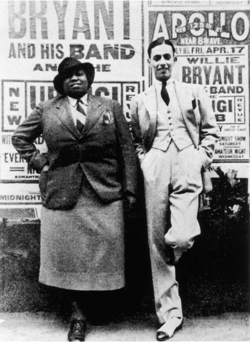 Gladys Bentley e William Bryant nel 1930.