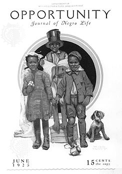 Ancora una copertina del Giornale piu' famoso di Harlem, 1926