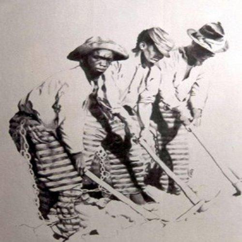 Neri ai lavori forzati,inizi 1800