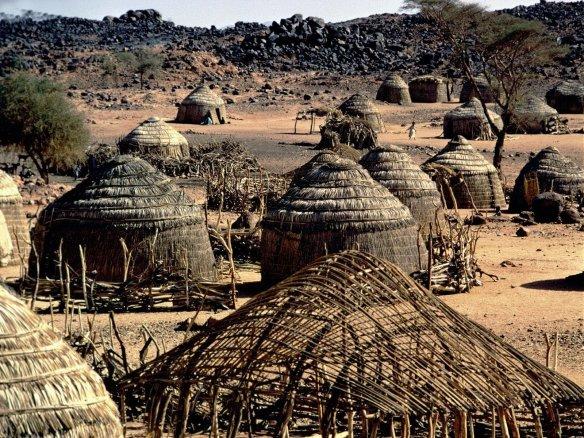 Disegno dell'Africa del 1700. Mali.
