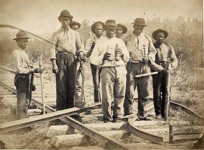 Costruttori di binari,1830 c.a.