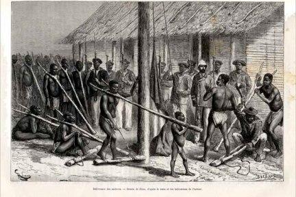 Mercato degli schiavi,fine 1700