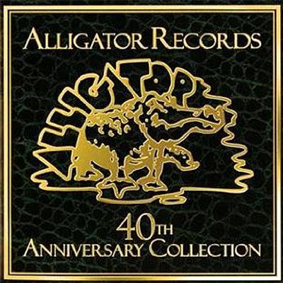 Bellissimo il marchio della prestigiosa ALLIGATOR RECORDS, che ha festeggiato i suoi 40 anni di attivita'!