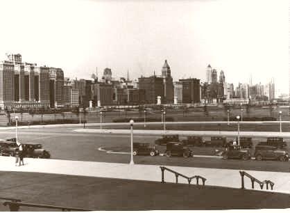 Chicago cambiava a vista d'occhio. Qui una foto della citta' nel 1928