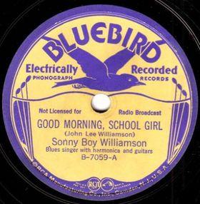 Ecco uno dei primi dischi della BLUEBIRD RECORD con l'indimenticabile voce di Sonny Boy Williamson