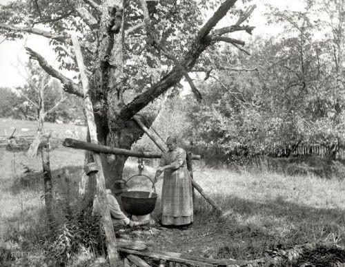 Sulle rive del Mississippi.  Schiavi liberati,1875