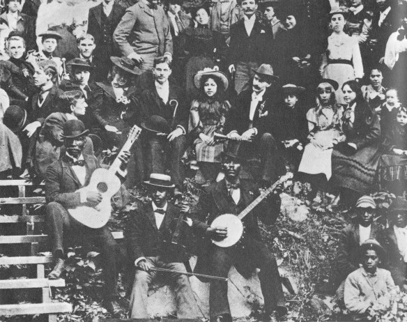 tipica Stringband  a Chicago ,1900