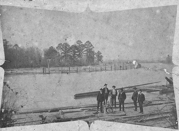 Il delta del Mississippi cosi' come appariva nel 1900