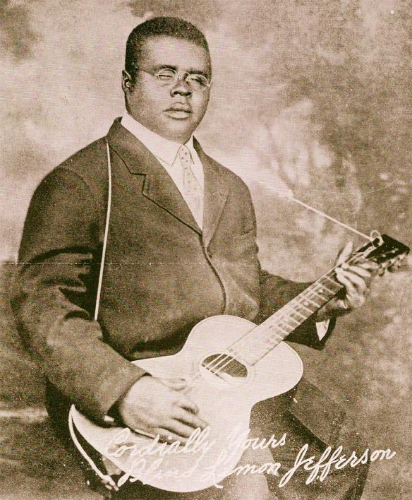 La classica (e forse UNICA) foto ufficiale di Blind Lemmon Jefferson. 1927