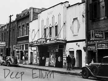 E questo,nominato DEEP BELLUM,sembra fu il primo dei locali dove Lemon Jefferson si esibi',nel 1920.  Foto dello stesso periodo.