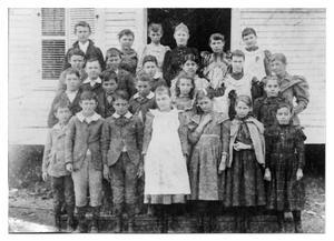 Scuola elememtare della Contea di Orange, in Texas. 1894