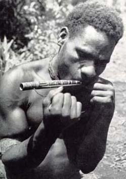 Di chiara origine Afro,ritroviamo una versione dell'Arpa dell'Ebreo anche in Nuova Guinea tra i Papua.