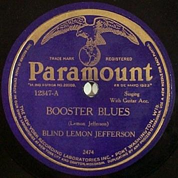 Questo fu il Primo disco di successo di Lemon Jefferson per la Paramount,marzo 1926