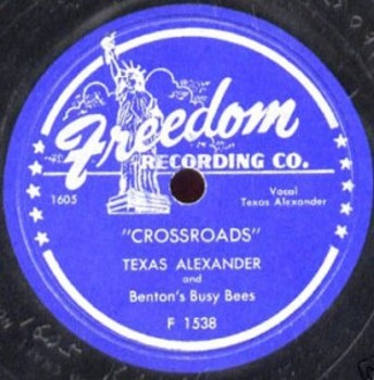 Per la Freedom nel 1950 Texas Alexander incise il famoso duetto con  Benton Busy Bees.