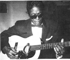 Lightnin'  Hopkins negli anni '50.