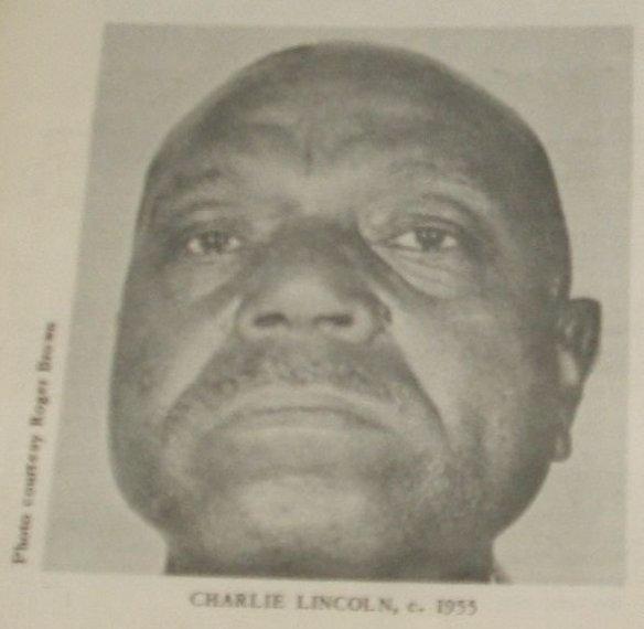 Charlie Lincoln, 1955, at Cairo Prison, Georgia.