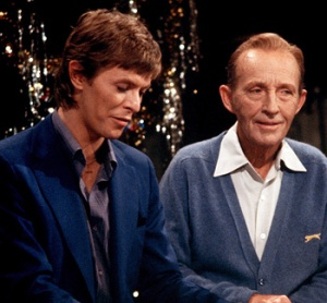 Bing Crosby e David Bowie,1977