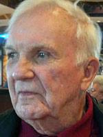 Un anziano Frank Pooler nel 2012, pochi mesi prima della sua morte avvenuta nel gennaio 2013.