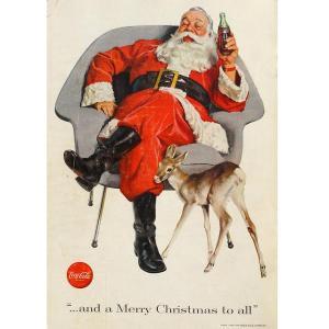 Babbo Natale per la Coca Cola, 1951