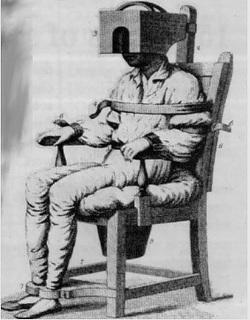 Tortura nelle prigioni Americane del 1800.