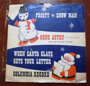 Frosty the Snowman,