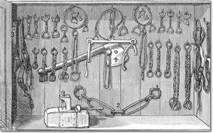 Slave in old America