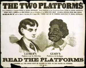 Racist campaign 1868